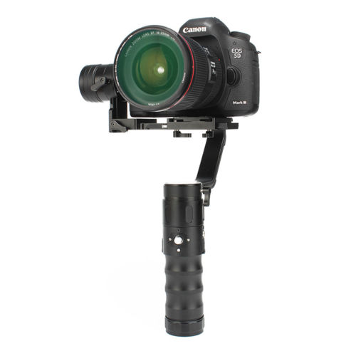 Free DHL EMS Beholder EC1 3 axis Handheld 360 degrees Camera Gimbal for A7S Canon 6D/5D/7D & DSLR Cameras VS Beholder DS1 Y19436