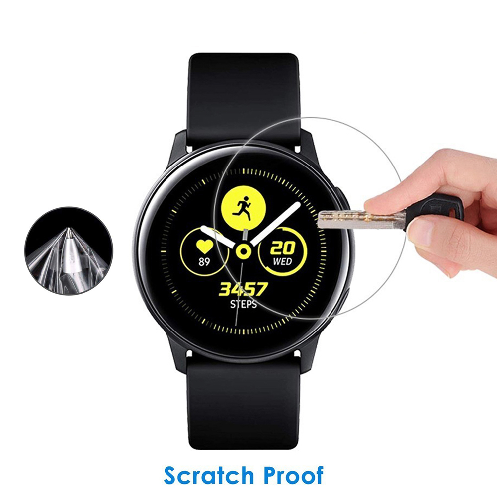 20mm Galaxy Watch Active Glass For Gear S3 Frontier/Classic Samsung 46mm Gear Sport S2 42mm Screen 9H 2.5D Protector Film