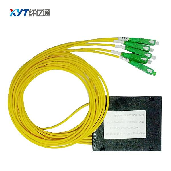 1 par módulo cwdm de fibra única 4 canales cwdm mux / - Equipos de comunicación