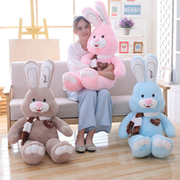 Large cute rabbit Sleeping plush doll Stuffed Soft toys Appease Children Gifts kids Comfort Animal Bunny Room decoration