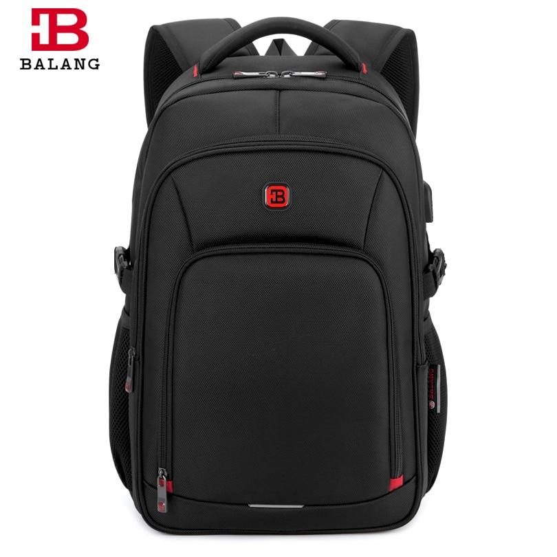 "Balang 15.6"" Laptop Backpacks For Teenager Fashion Women Schoolbag New Waterproof Travel Backpack Men's Mochila Escolar Feminina #3"