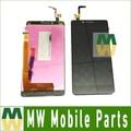 Alta qualidade 1 pc/lote cor preta para lenovo k3 k30 K30t A6000 LCD Display + Touch Screen Digitador Assembléia LCD tela