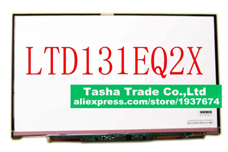 For Toshiba Matsushita LTD131EQ2X Matte 600*900 HD+ Laptop LCD Screen Matrix Panel 1 LVDS 30Pins n116bge e42 rev c1 11 6 wxga laptop hd led lcd screen edp 30 pins matte
