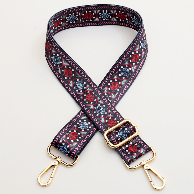 Купить с кэшбэком Nylon Belt Bag Straps Rainbow Obag Accessories Adjustable Wide Strap for Women Shoulder Messenger Bags Obag Handle Handbag Strap