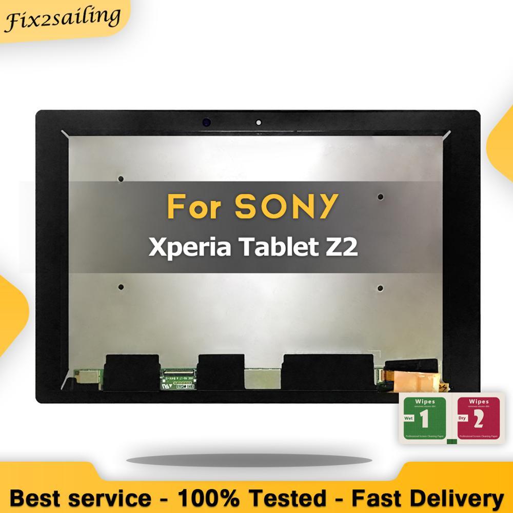 Nowy wyświetlacz LCD do Sony Xperia Tablet Z2 SGP511 SGP512 SGP521 SGP541 SGP551 SGP561 Panel + ekran dotykowy Digitizer zgromadzenie