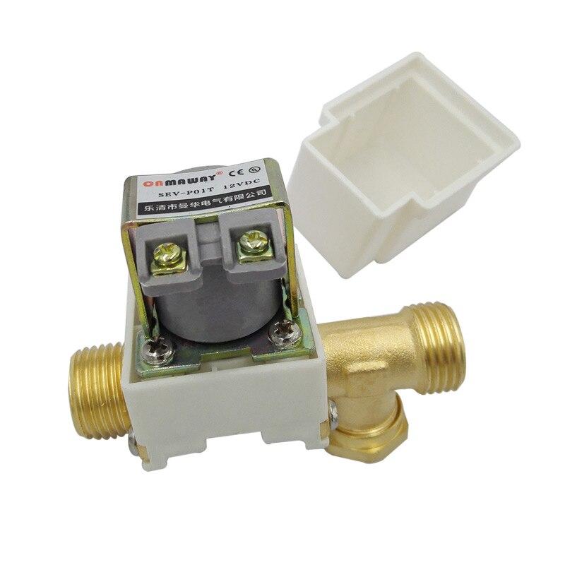 ᐅG1/2 DN15 zawór wody dc12V zawór elektromagnetyczny ...