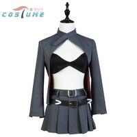 Custom Made Anime Noragami Character Bishamon Cosplay Costume Sexy Girl Garment