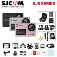 Большая коробка SJCAM SJ8 Pro и SJ8 Plus и SJ8 Air 4 К 60FPS Wi Fi пульт дистанционного шлем Спорт действий Камера ambarella H22 Сенсорный экран Спорт DV