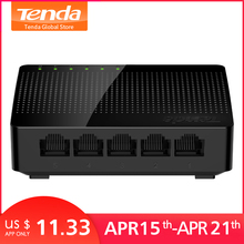 Tenda SG105 Mini 5-Port 데스크탑 기가비트 Switch/Fast Ethernet Network Switch LAN Hub/풀 나 반 duplex) Exchange(China)