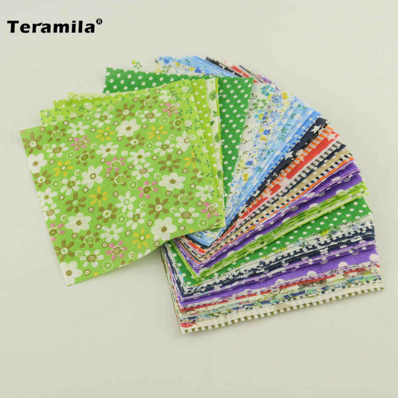 Cotton Fabric Charm Packs 50pieces 10cmx12cm Fabric Stash  Patchwork Fabric Quilting Tilda No Repeat Design Tissue Fat Quarter