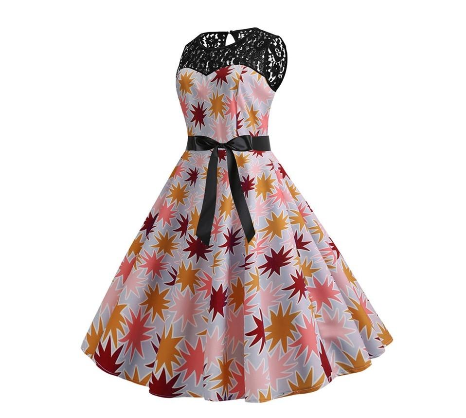 Koktejlové párty šaty jednofarebné s čipkou (10 variánt)