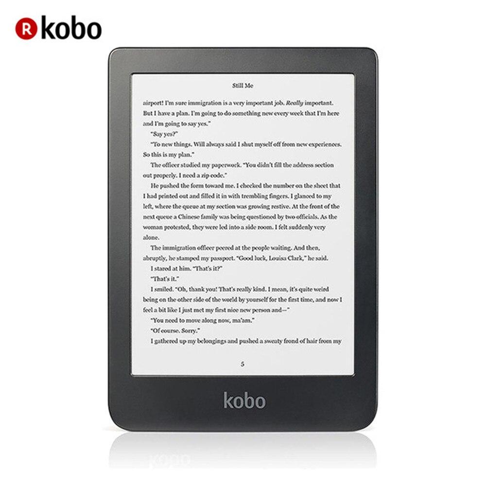 Kobo Clara HD Ereader, 6 '', E D'encre Carta, 8 gb, MicroUSB Negro