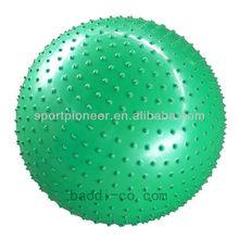 75cm PVC Point massage ball Exercise Balance Gym ball Fitness body building tool