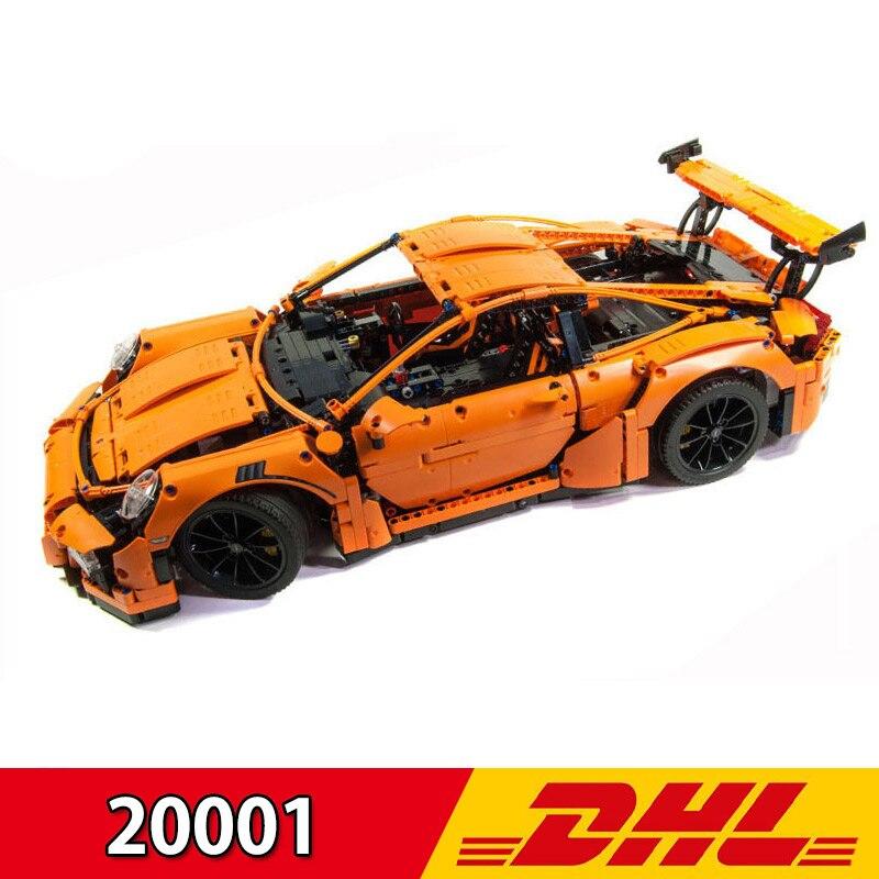 Blocs de construction ensembles Legoing 42056 Lepining 20001 Technic sport voiture série course voiture F1 formule enfants jouet briques