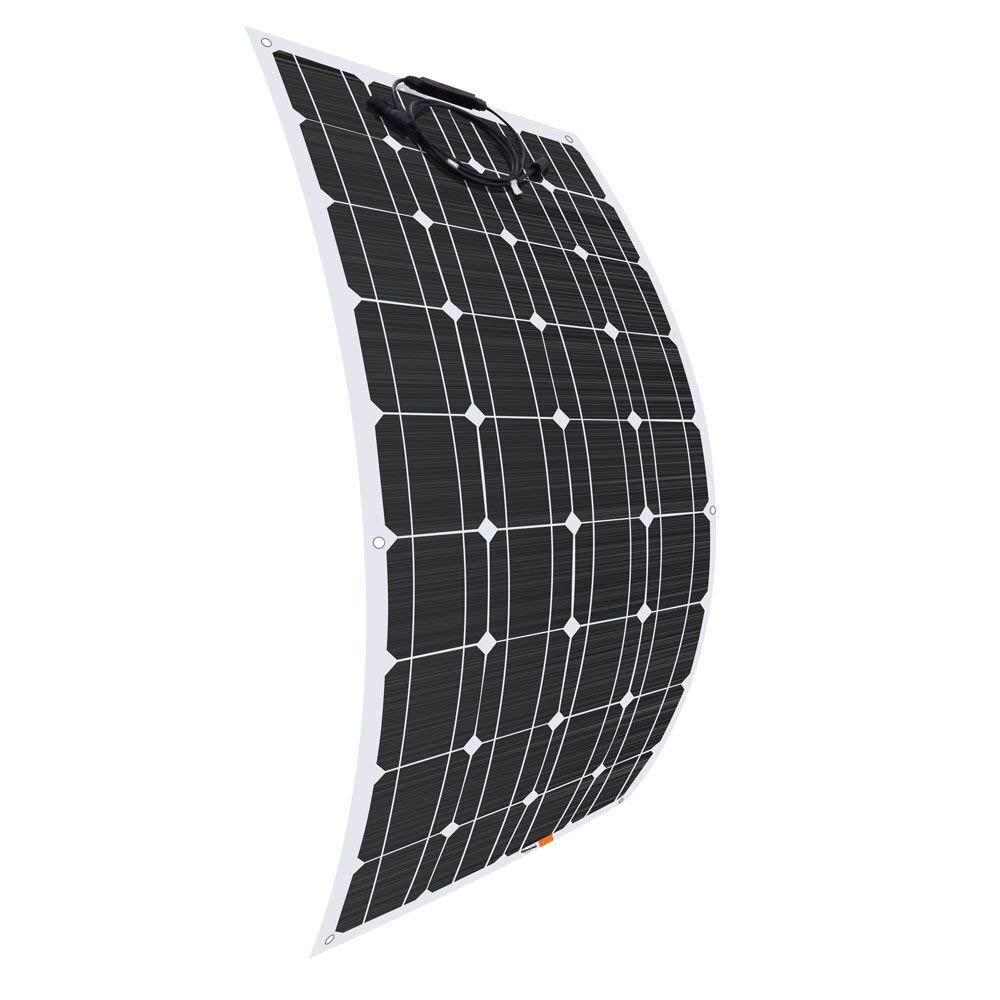 100W 18V Solar Panel 100W Flexible Solar Panel Solar Cells Monocrystalline Silicon Waterproof Panel 25 Years Warranty 100w 18v flexible monocrystalline silicon solar panel pv quality power 12v battery