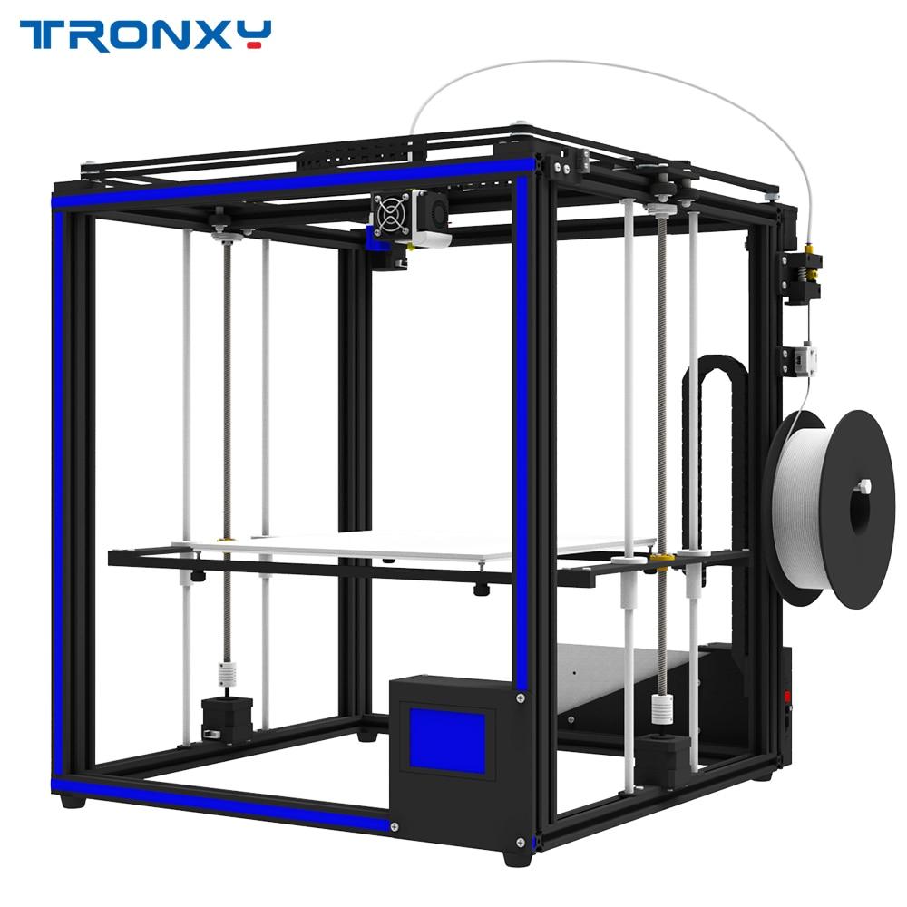 TRONXY X5SA BRICOLAGE En Aluminium 3D Imprimante 330*330*400mm Taille D'impression W/Mise À Jour T_ouch Écran/ auto Nivellement/Double Z-axe/Puissance Reprendre