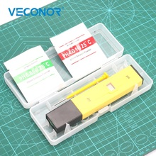 Veconor 0.0-14.0 PH Meters Professtional Measuring Tools Pen Type PH Meter With Adjustment Trimmer High Accuracy
