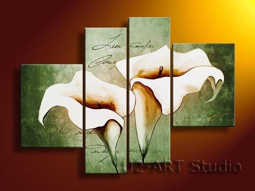 Fiore astratto, arte moderna, artigianato, artigianato, riproduzione, corridoio pittura a olio gp89Fiore astratto, arte moderna, artigianato, artigianato, riproduzione, corridoio pittura a olio gp89