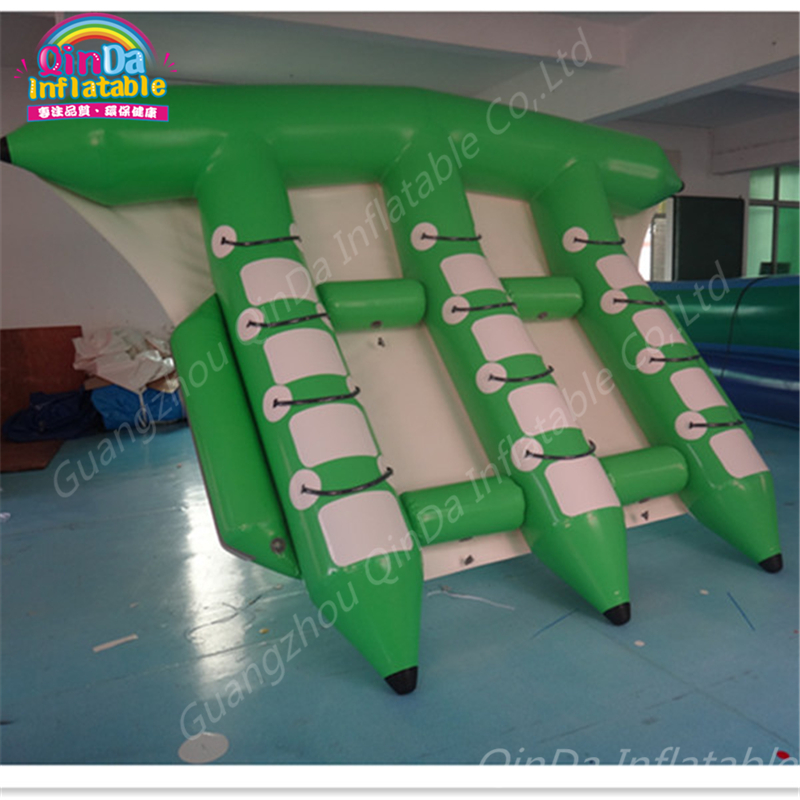 6 persons inflatable flying fish tube towable,inflatable flying fish banana boat,Inflatable Towable Flying Fish Water Sports цена