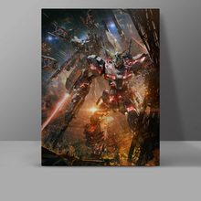 Gundam Strike Wall Pictures Japanese Anime Canvas Novelty Painting Bedroom Digital High Quality Creative Art