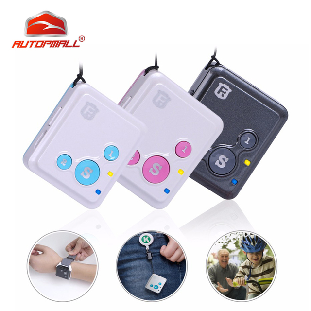 Mini GPS Tracker Children Kids RF-V16 Hand-free Talk 2G GSM GPS Locator 12 days Standby SOS Call Voice Monitor Free APP Tracker 1