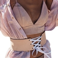 PU Rendas Até Mulheres Cós Largo Cummerbunds Acessórios de Alta Moda gg cinto faja Frete ceinture femme corset Cinto de Couro Falso