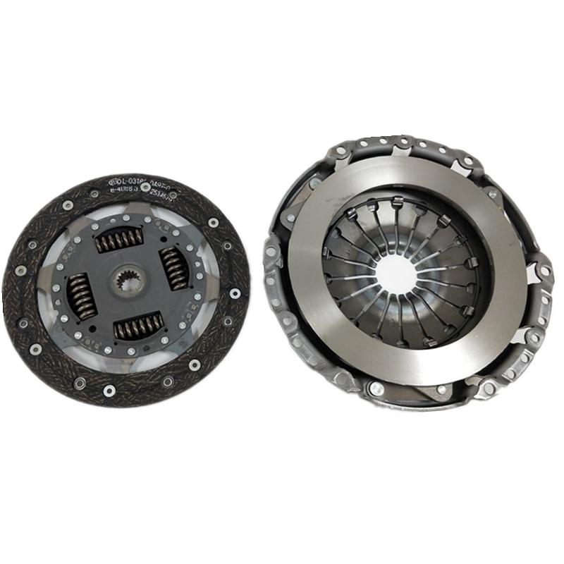 2 pcs Nouveau Kit D'embrayage Pour Ford Fiesta Fusion Mazda 2 1.6 16 v 17 Cannelures 2001 À 2008 621300809 2S61 7540 AC 1732732 C601-16-490