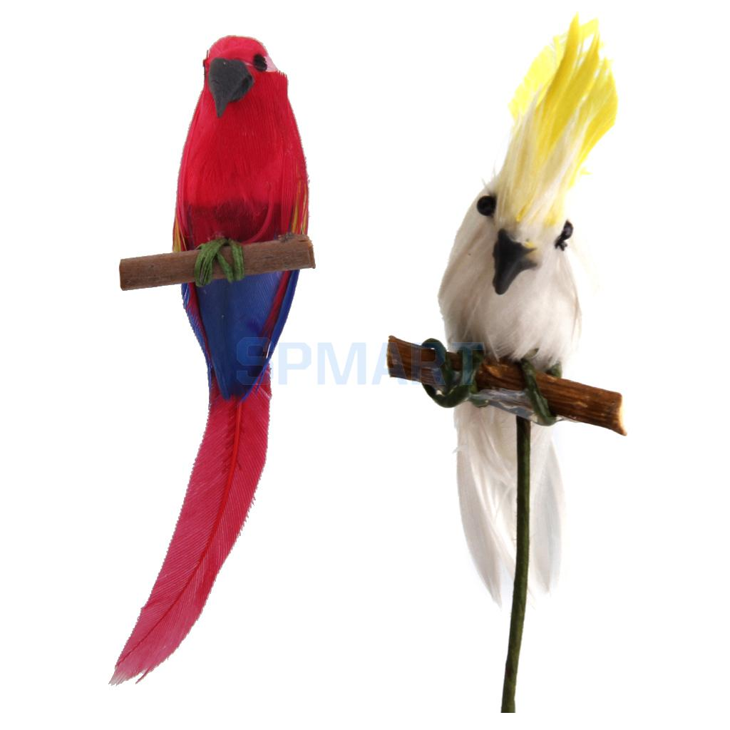 Toys & Hobbies Dolls & Stuffed Toys Realistic Dongzhur New 1:12 Cute For Mini Dollhouse Miniature Adornment White Clay Parrot Bird Furniture Kids Gifts Girls Toys Wwp0904