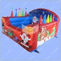 Christmas Ball Pit, Inflatable Ball Pit Game for Kids, Christmas Inflatable Game, Free Blower Included