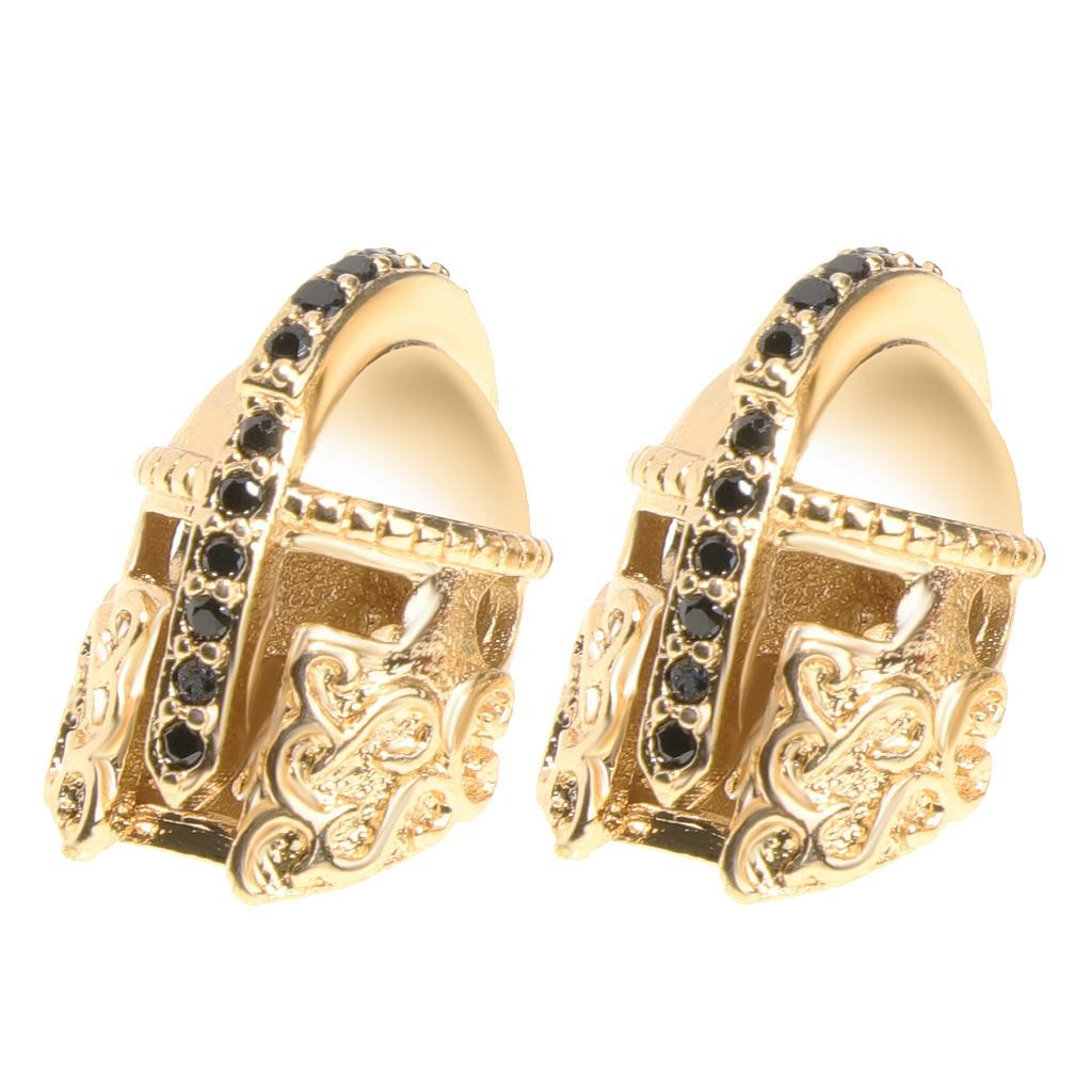 Spartan Warrior Gladiator Helmets Bracelets Accessory Charm Beads Gold