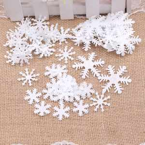 Window-Decoration Crafts Scrapbook Snowflake Bedroom Christmas Home-Glass Winter 100pcs
