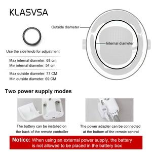 Image 5 - KLASVSA חשמלי ראש צוואר לעיסוי רטט חימום אינפרא אדום רחוק בריאות עיסוי ממריץ שרירים לחץ אוויר מסכת עיניים