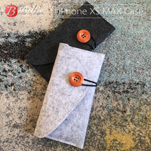 Pochette pour téléphone portable en feutre de laine sac à main pour iphone XS 5.8 pouces pochette pour téléphone portable pochette pour iphone xs max 6.5 pouces