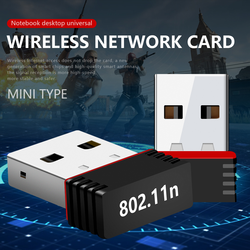 MT7601 Mini USB Wifi Adapter 802.11n Antenna 150Mbps USB Wireless Receiver Network Card USB WiFi Donglei For Desktop