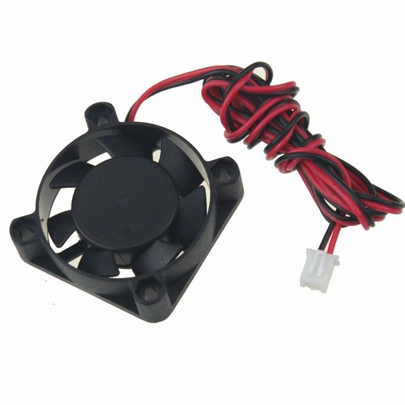 10 шт./лот Gdstime 3d принтер Вентилятор охлаждения 40 мм 4010s 40*40*10 мм 12 В 2Pin 1 м провода