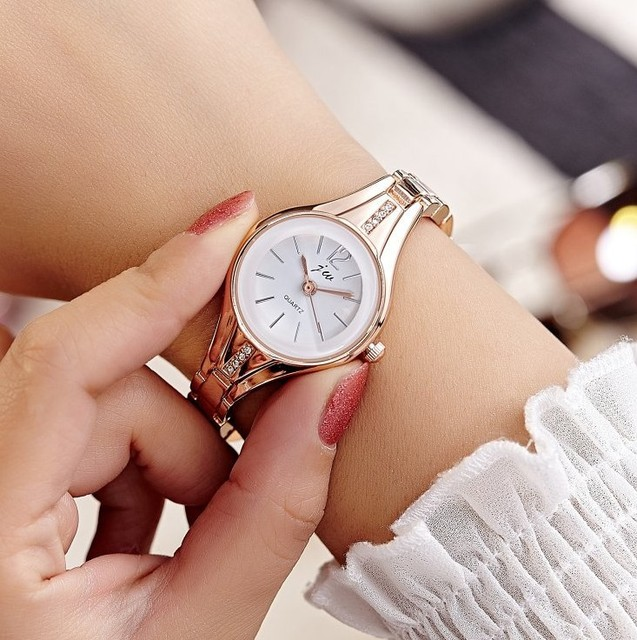 fashion women watch with diamond gold watch ladies top luxury brand ladies jewel