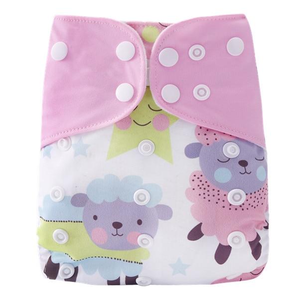 [Simfamily] 1 шт. многоразовые тканевые подгузники, регулируемые детские подгузники, моющиеся подгузники, подходят для 3-15 кг детские подгузники