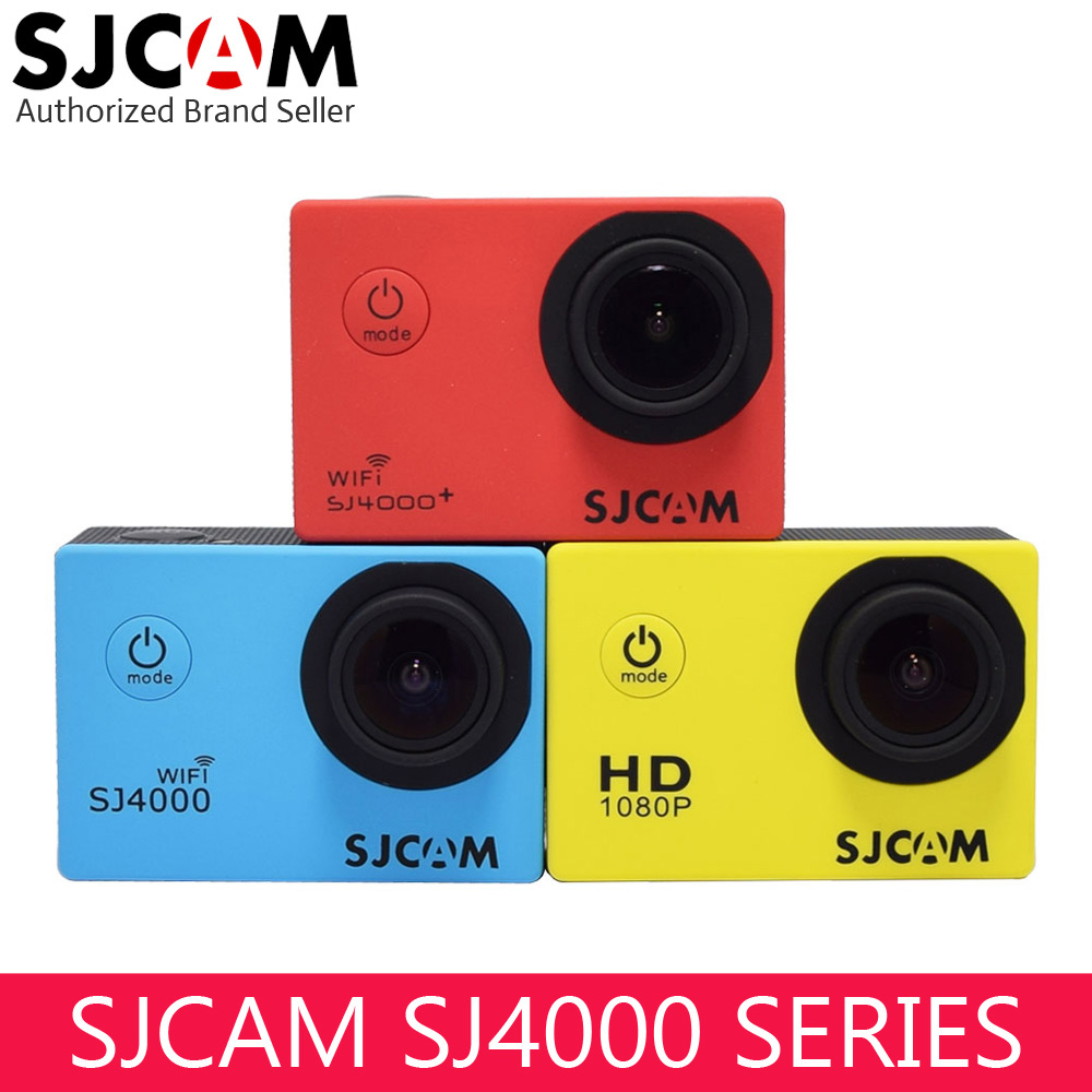 D'origine SJCAM SJ4000 Série Action caméra vidéo 1080 P Full HD SJ4000 Wifi/SJ 4000 2.0 LCD Étanche Mini Extérieure sport DV