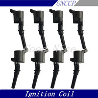 8 Pcs IGNITION COIL For FORD F150 LINCOLN MERCURY Mountaineer DG508 OEM F7TZ 12029 BA