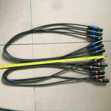 1 Meter length 3 pin dmx in and out signal Connection DMX CABLE 3.5ft XLR for hot selling
