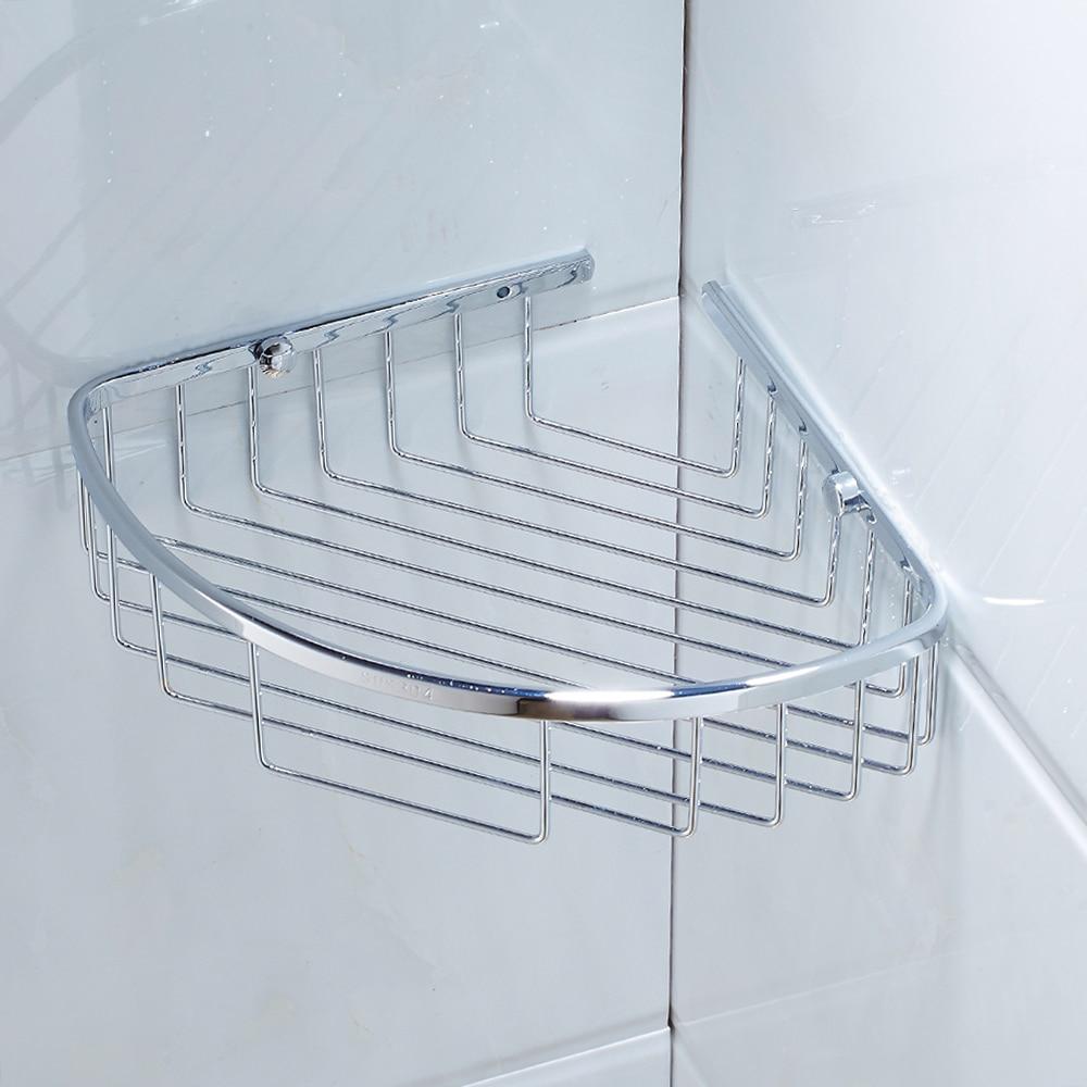 EVERSO Stainless Steel Shelves Bathroom Wall Mounted Corner Shelf ...