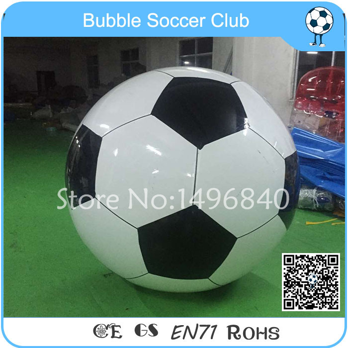 Free Shipping PVC Big Football Ball For Bubble Soccer,0.7m Diameter Football Model football cart remote control robot football science model diy scientific experiments for schoolchildren