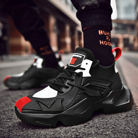 Running Shoes for Man Sneakers Sports Shoes Black White Men Comfortable Walking Shoes Brand Sneakers Islamabad