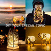 12pcs lot Micro Led Fairy Lights CR2032 Button Battery Operated 2M 20 LEDS Copper LED String Light for Xmas Wedding Decoration promo