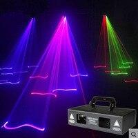 Новый мини 200 сто RG цвет лазерный Освещение сцены Сканер DJ Танцевальная вечеринка шоу проектор огни