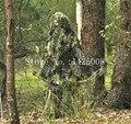 3D Трава Лес Ghillie Костюм толще и тяжелее Снайпер тактический охота одежда yowie пейнтбол Костюм Камуфляж