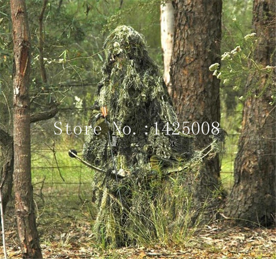 Aliexpresscom  Buy 3D Grass Forest Ghillie Suit thicker