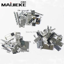 Full inner Small Metal iron parts For iPhone 8 7 6s 6 plus 5 5c 5s Small holder bracket shield plate set kit phone parts