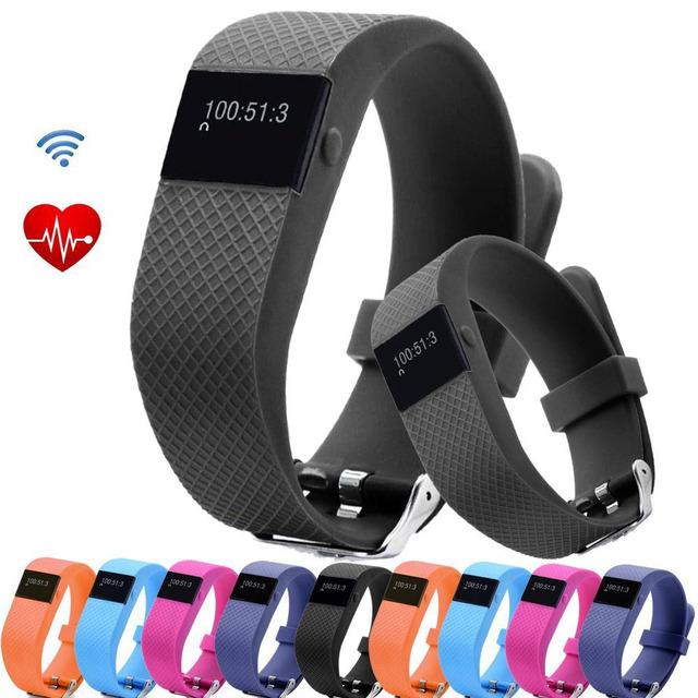 Pulseira pedômetro Atividade Rastreador De Fitness Monitor De Freqüência Cardíaca Pulseira TW64S Chamada Lembrete Anti-perdida Smartwatch À Prova D' Água