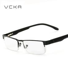 VCKA Площади Нержавеющей Компьютера, Очки Для Чтения Женщины Мужчины Очки женщин Анти Blue Ray Gafas де Lectura 1.00-4.00
